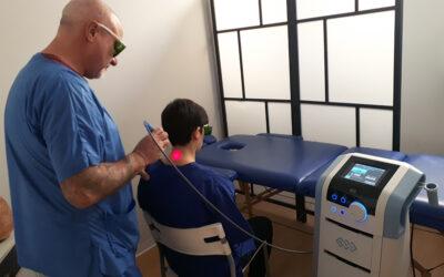 Laser Yag per la cura delle patologie dell' apparato muscolo scheletrico