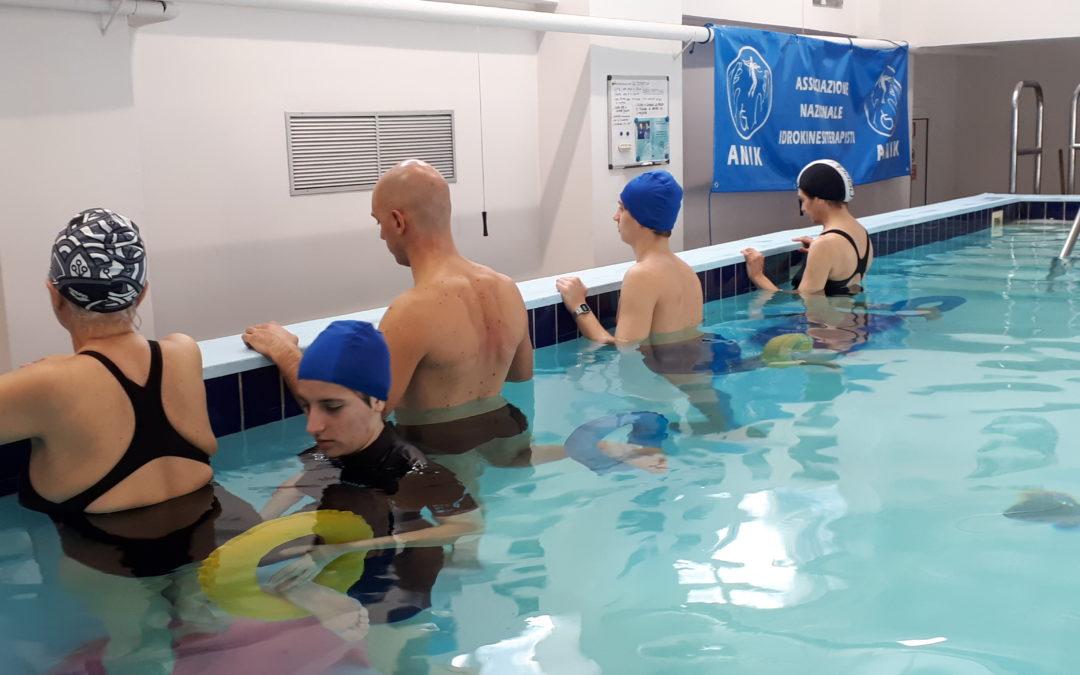 La terapia di gruppo in acqua nell'Artrosi